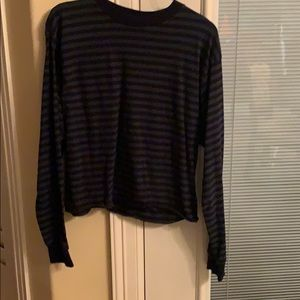 Brandy Melville long sleeve striped top